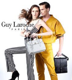 Guy Laroche Lady & Men Guy Laroche, Men And Women, Guys, Lady, Leather, Collection, Fashion, Moda, Fashion Styles