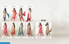Fabrics Detail Top ;- chanderi Silk With Exclusive Chiffon Embroidery  Dupatta :- Digital print For Festive Season  #nicecollection  #godmateriel  #awesomelook Call or Whatsapp : +91-7405434651.. website link :-http://textiledeal.in/wholesale-product/4155/Ekta-Ehsaas-vol-12-Wholesale-Chanderi-Silk-Salwar-kameez-catalog