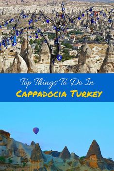Top Things To Do In Cappadocia, Turkey. From hiking through the fairy chimneys to riding in a hot air balloon, Cappadocia has something for everyone. Click to find out more! /venturists/
