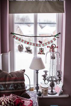 Window Christmas Decoration