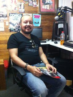 Carlos Salas, rockero y compositor.