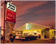 Joel Meyerowitz Dairyland Provincetown 1976 save both photos have different light