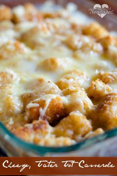 Love casseroles? This tater tot casserole will be your best friend when your schedule is pinched and your tummy is growling. It's cheesy, comforting & quick!