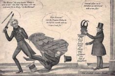 vintage election cartoons | ... -- Jackson & the Old United States Bank, 1832, Political Cartoon