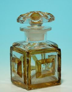 ∴ Biedermeier Perfume Bottle circa 1840
