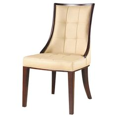 Sit down to style with this inviting design, artfully crafted for lasting appeal. Product: Dining chair    Construction Ma...