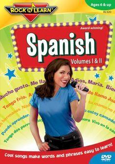 Rock 'N Learn: Spanish DVD ~ Rock 'N Learn, http://www.amazon.com/dp/B00023BLFI/ref=cm_sw_r_pi_dp_1lG5qb1WRC49J