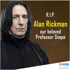 RIP #AlanRickman