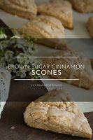 Brown Sugar Cinnamon Scone Recipe