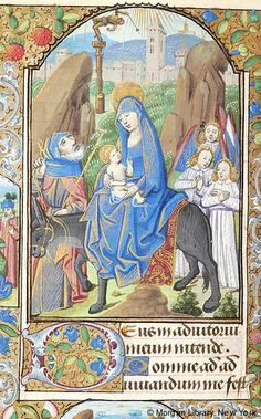 Book of Hours, MS M.131 fol. 60v - Images from Medieval and Renaissance Manuscripts - The Morgan Library & Museum