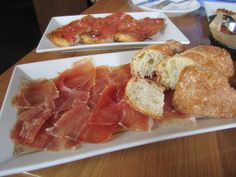Pan con Tomate &  Jamon Serrano at Bulla Gastrobar in Coral Gables