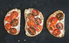 Herbed Ricotta & Tomato Toast