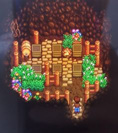 Stardew Valley is an open-ended country-life RPG with support for players. Stardew Farms, Stardew Valley Farms, Star Citizen, Go Game, Game Art, Stardew Valley Layout, Stardew Valley Tips, Stardew Valley Fanart, Farm Layout