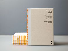 The AGDA Design Awards recognise the best of Australian communication design. Graphic Design Brochure, Brochure Layout, Collateral Design, Stationery Design, Book Binding Design, Layout Design, Print Design, Haus Am See, Notebook Cover Design
