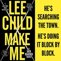Excerpt from Lee Child's Make Me @LeeChildReacher #thriller #amreading #teasertuesday https://wp.me/p3Nz8P-IN