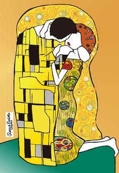 The Kiss: The Kiss by Rosa and Carlotta Crepax