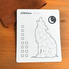 Een Wolf Mood Tracker Bullet Journal Stickers Bujo Stickers
