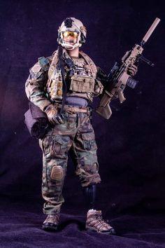 MP5 Machine Gun 1//6 Scale British SAS GI Joe Action Figures
