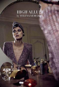 Malgosia Bela by Yelena Yemchuk for Vogue Italia March 2014 glamour star
