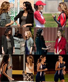 Rizzoli and Isles Lesbian   Body language does not lie. Two gals don't stare at each other over ...