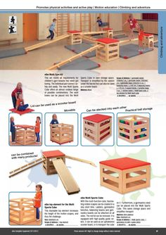 Nice idea for a changing play area, just give kids the materials