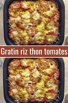 Today, the tomato is in the spotlight, in an excellent gratin recipe based on rice and tuna. The rice is creamy as desired, the gratin is tender, a pure delight… Overnight French Toast, Lasagna Soup, Lasagna Rolls, Tuna, Love Food, Healthy Snacks, Main Dishes, Food And Drink, Ethnic Recipes