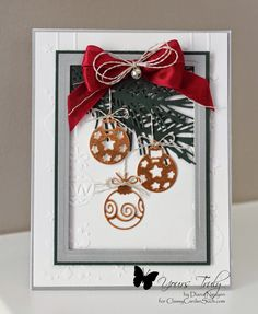 Yours Truly: Christmas Ornament Card
