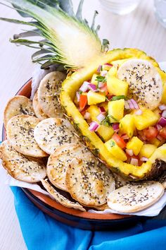 The perfect fresh and tasty side for your weekend cookouts—your friends and family will love this pineapple salsa recipe. It's amazing on top of pan seared chicken or grilled salmon but you can als…