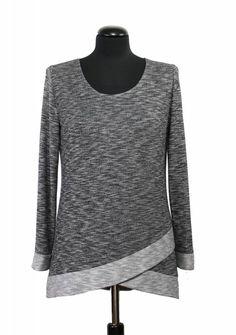 Bei Schnittquelle finden Sie Schnittmuster - wie z.B. Shirt Limmen die einfach zu nähen und raffiniert zugleich sind.