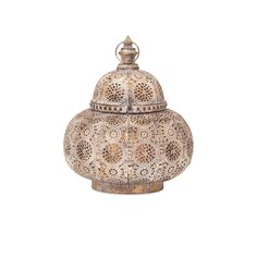 Eliza Small Pierced Lantern Imax Indoor Candle Lanterns Candle Lanterns Home Decor