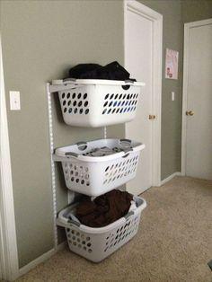 70 Basket Laundry Room Ideas 55