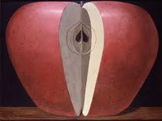 MAY DAY. Domenico Gnoli  Apple, 1968 Courtesy Fundaciòn Yannick y Ben Jakober, Mallorca