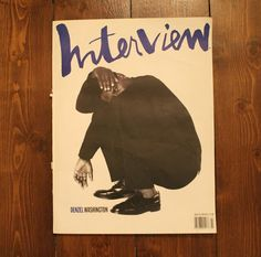 things to look at – 90's Interview / Editor: Ingrid Sischy - Creative Director: Fabien Baron