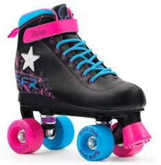 SFR Vision II Lights Kids Quad Roller Skates 12 Child