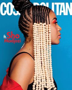 Sho Madjozi killed the appearance on cosmopolitan magazine cover with her pretty look and hairstyle. The singer made the whole of Mzansi proud with her win at the BET awards. However, Sho feels honoured gracing the mag cover and the magazine team discussed with the singer and her manager about her hair, which has been 90s Hairstyles, Braided Hairstyles, Black Hairstyles, Natural Curls, Natural Hair Styles, Hair Afro, African Natural Hairstyles, Afro Puff, Magic Hair