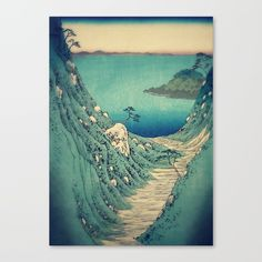This link is an affilate link! Check out society6curated.com for more! @society6 #illustration #wall #apartment #decor #homedecor #buy #shop #sale #drawing #canvas #artprint #shopping #apartmentgoals #sophomoreyear #sophomore #year #college #student #home #house #gift #idea #art #japan #japanese #japaneseart #landscape #nature #beauty #beautiful #color #colors #landscapeart #digital #painting #drawing #buyart #artforsale