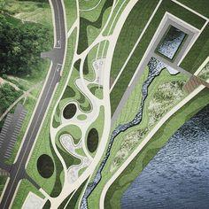 garden in garden~~~ing &&& #urbanism Bs #Environmental #Design #Group #LandscapeArchitecture & #Associates #sketch #drawing #plan #note #conceptplan