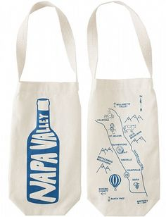 Napa Valley Wine Tote - Seriously perfect for your Napa wedding