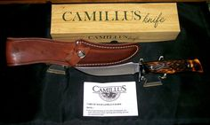Camillus 1012 Great Smokey Knife & Sheath Circa-1972 Original Tagged Box,Papers @ ditwtexas.webstoreplace.com