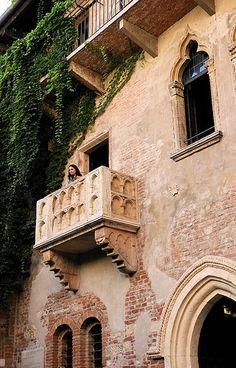 Verona casa Romeo y Julieta.