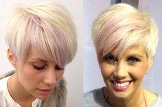 Diese Kurzhaarfrisuren Sehen Besonders Bei Frauen Mit Blonden Haaren Total Cool Aus!