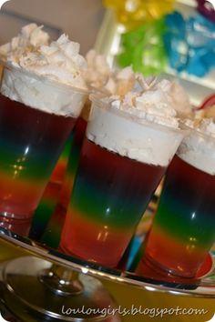 Rainbow Party Ideas! GREAT ideas for ANY rainbow themed party!