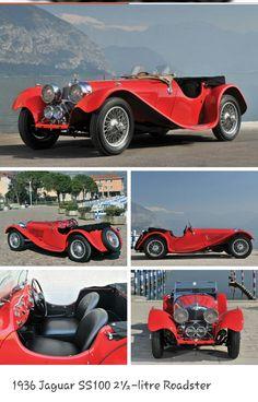 1936 Jaguar SS100 2 1/2 litre Roadster