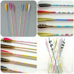 Great links to Arrow DIY's and Inspiration c/o http://glitterandpearls.com/2012/04/05/diy-arrow-decor/
