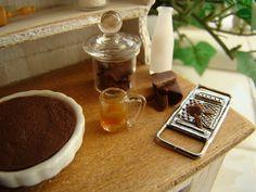 Miniature grating chocolate 1:12
