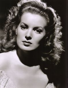 maureen ohara with awesome lighting.