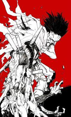 Tetsuo Evolves by TheIronClown on DeviantArt Manga Art, Manga Anime, Anime Art, Akira Film, Akira Tetsuo, Akira Poster, Akira Manga, Character Art, Character Design