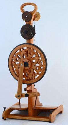 "I'm saving up for this Golding Travel Wheel in the ""Celtic Flower"" design.      6056"