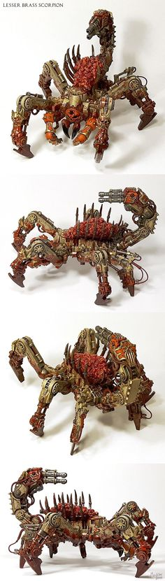 Lesser Brass Scorpion of Khorne (Soul Grinder) - Forum - DakkaDakka | At the intersection of grim and dark.