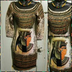Egyptian bodycon dress Worn once polyester material with a tiny bit of stretch Dresses